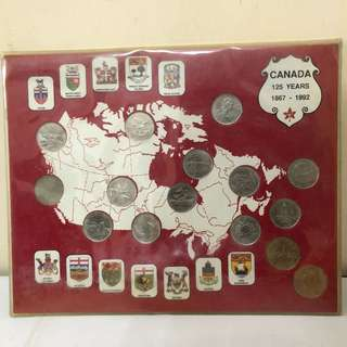 加拿大一百廿五週年纪念幣