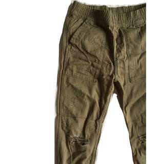 H&M Army Green Jogger
