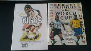 Football books collection (2×)