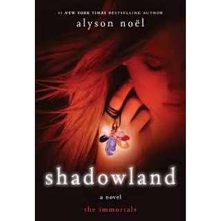 Shadowland by Alyson Noel (Hardback)