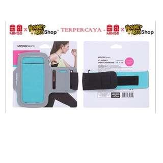 Japan Quality - Tempat Hp Wanita Olahraga Sport Armband Miniso Import