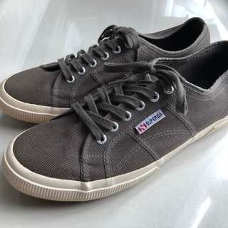 Superga Olive Green Casual Shoes