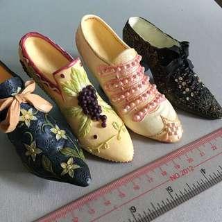 迷你 女裝鞋 擺設 高跟 high heel 裝飾品