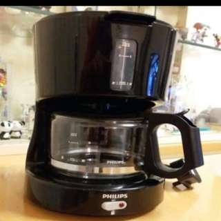 100% new and function Phillip coffee machine 咖啡機