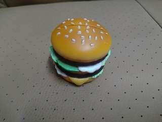 麥當勞 公仔 漢堡包 card holder 收藏