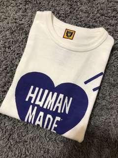 HUMAN MADE 18ss 藍愛心