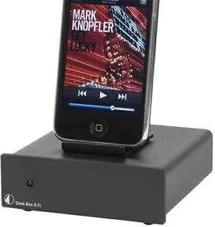Pro-ject Dock Box S Fi (Black)