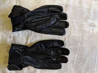 Hi tech leather gloves size S