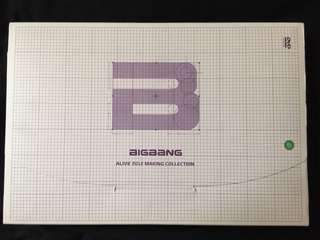 BigBang Alive 2012 making collection(內附兩本寫真+3隻dvd)