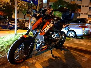 2012 KTM 200 Duke - Comes with all accessories!! Refer to post please!
