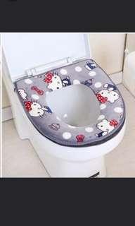 Hello Kitty Toilet Seat Cover/Mat