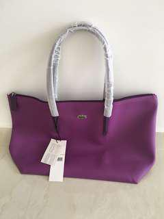 Lactose purple tote bag