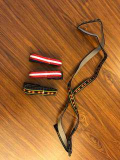 Chalk bag belt
