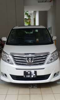 Toyota Alphard airport /hotel transportation/ wedding service