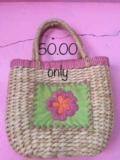Pottery Barn Cute Flower Basket Bag for Kids