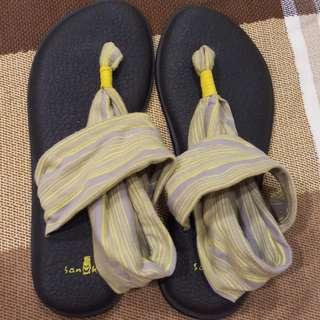 🚚 SANUK 瑜珈墊涼鞋 USA 8,EUR 39,24.8cm