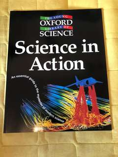 Science in action modern science scientist oxford university press (屯門市廣場自取 / 順豐到付)