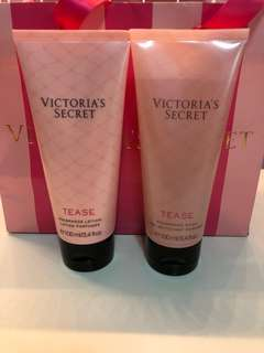 BN Victoria's Secret [TEASE] Body Lotion and Fragrance Wash