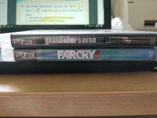 PS3 GTA Far Cry