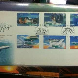 1998年香港國際機場 首日封