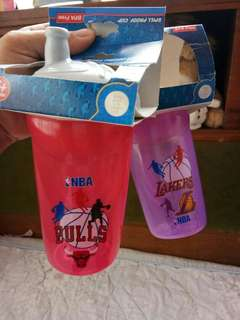 Take all brandnew Nba Spill Proof Cup(BPA Free)