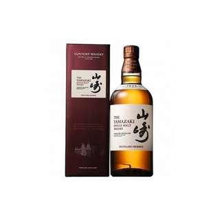 山崎NAS 日本單一麥芽威士忌 700ml