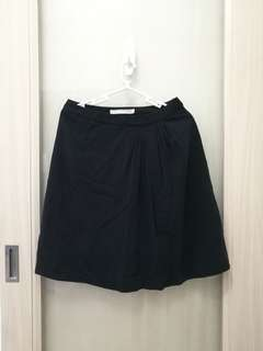 G2000 Black Office Pleated Skirt Size 27