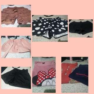 Shorts and Tshirts (Bundle #1)
