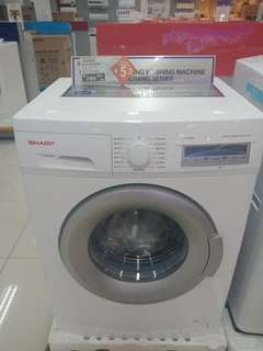 Diskon 5% mesin cuci sharp