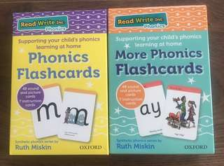 Oxford Uni Press Phonics Flashcards by Ruth Miskins