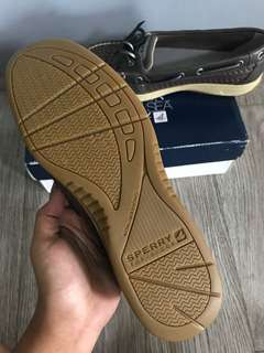 Sperry top sider Angelfish Graphite Woven