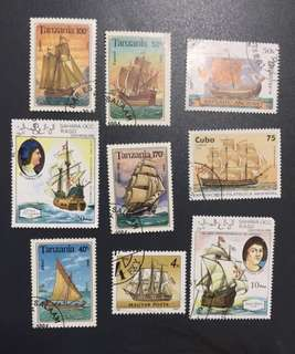 帆船郵票 Sailing Ship Stamp