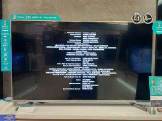 "Hisense Smart TV UHD 4K 55"" Promo Gratis 1X Angsuran"