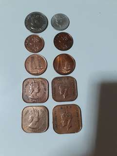 Old King & Queen Coins