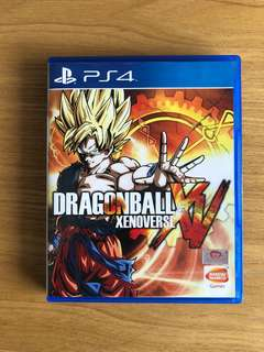 PS4 Dragonball Xenoverse