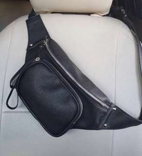 Leather waist bag type 1
