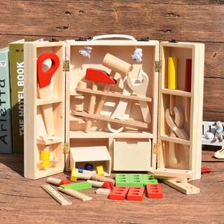 NEW~ kids wooden toolbox