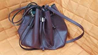 Zara maroon bag