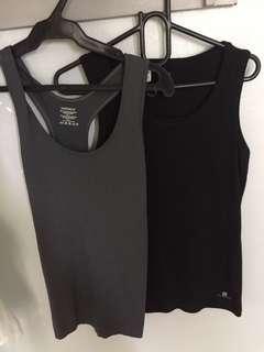 Black & grey tank tops (buy one take one!!)