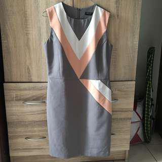 SM Woman Color block dress