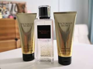 Victoria's Secret Angel Gold Mist, lotion and wash