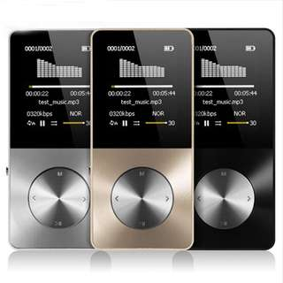 MP4 Player Built-in Speaker 4GB 8GB 1.8 Inch Screen Support 32GB SD Card