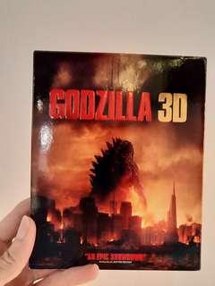 Godzilla Bluray + 3D