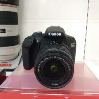 Kamera Canon Eos 1500D New Arrival DP 0% Kredit Tanpa KartuKredit
