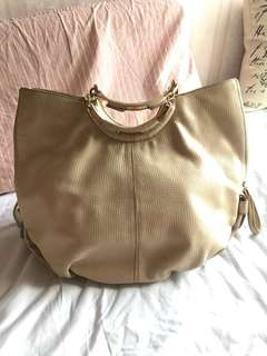Escada calf leather handbag bag