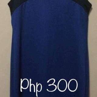 Repriced! Plain Blue Dress