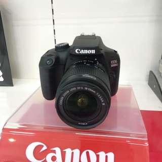 Kamera canon eos 3000D New KREDIT Tanpa KartuKredit Proses 3Menit