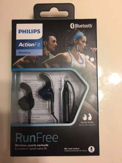 Philips SHQ6500 Bluetooth Sports Headphones