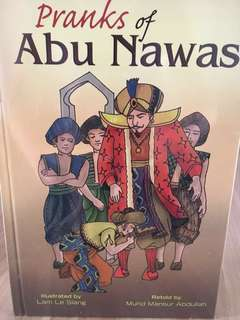 Pranks of Abu Nawas story books (1 set)