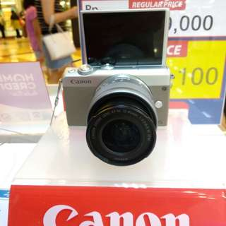 Kamera canon M100 Bisa Dicicil Tanpa KartuKredit Proses3Mnt